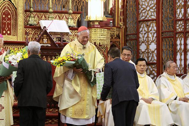 Tất niên đón xuân Mậu Tuất 2018 tại Tổng Giáo phận Hà Nội