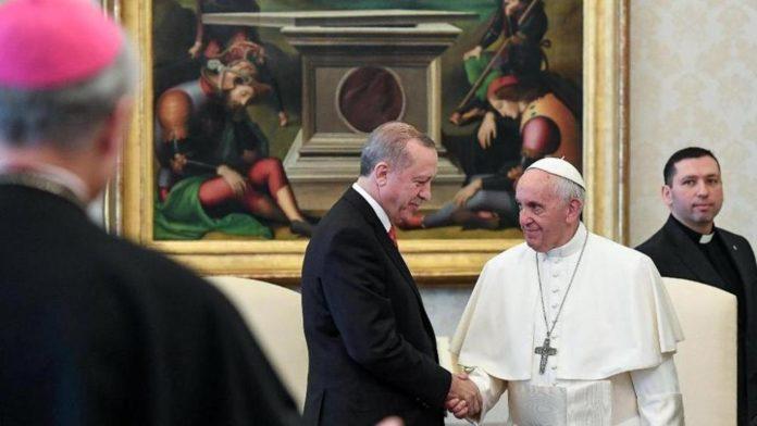 Cuộc gặp gỡ giữa Đức Giáo Hoàng và Tổng thống Thổ Nhĩ Kỳ