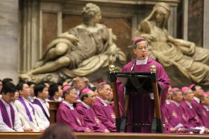 Thánh lễ đầu tiên của Hội Đồng Giám Mục Việt Nam tại Đền Thờ Thánh Phêrô, Vatican – Roma, sáng 03.03.2018 - Ảnh minh hoạ 7