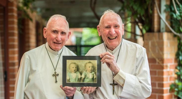 Anh em sinh đôi kỷ niệm 60 năm linh mục trong Dòng Chúa Cứu Thế