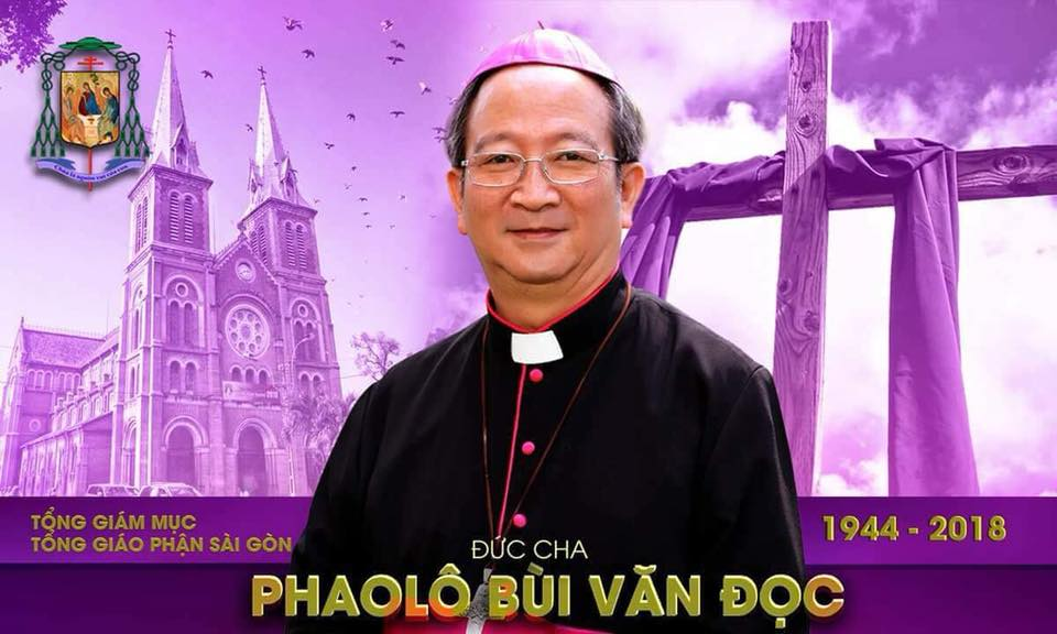 Thông tin chi tiết về tang lễ Đức cố Tổng Giám mục Phaolô Bùi Văn Đọc - Ảnh minh hoạ 2
