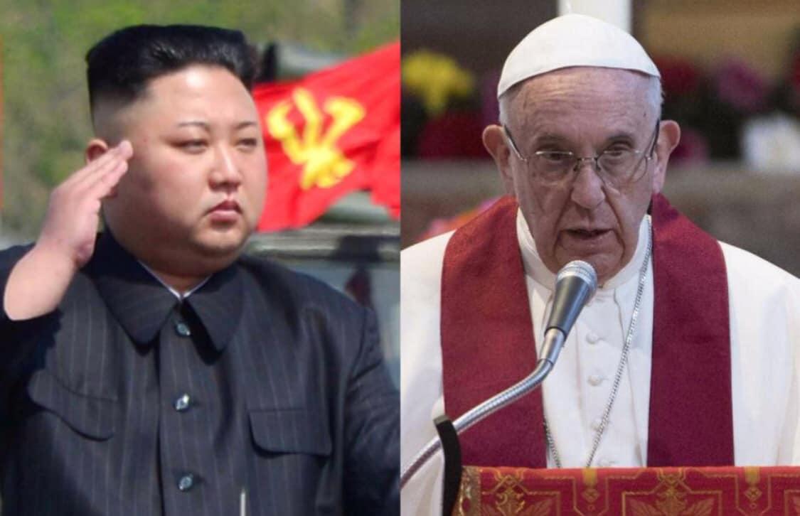 Kim Jong-un mời Đức Phanxicô đến thăm Bắc Hàn