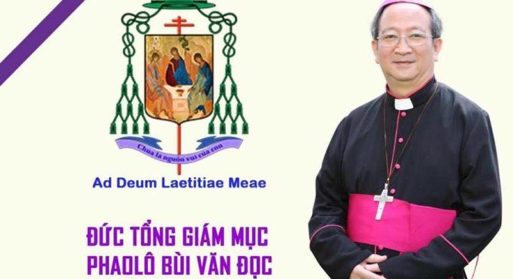 Thông tin chi tiết về tang lễ Đức cố Tổng Giám mục Phaolô Bùi Văn Đọc