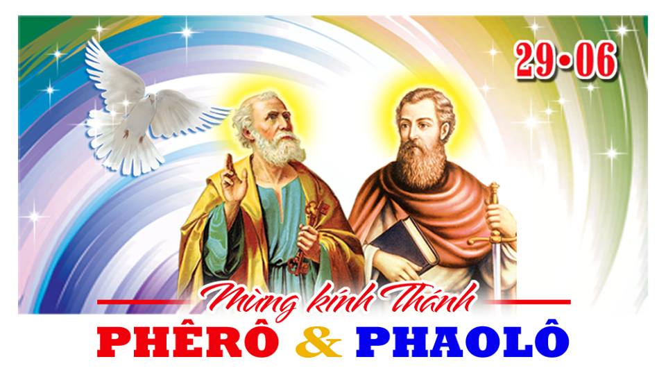 Thánh Phêrô và Thánh Phaolô