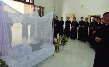 Cả Chủng Viện Bùi Chu xót xa về sự ra đi của Thầy Giuse Nguyễn Văn Tuấn
