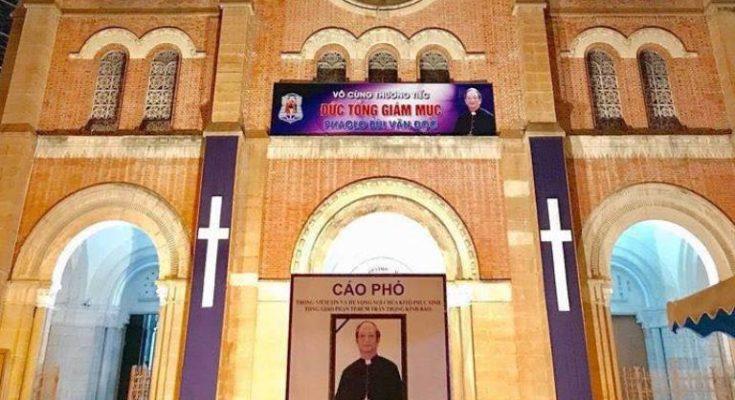 Hơn 203 Nhà Thờ Công Giáo Tại Sài Gòn Đổ Chuông Cùng 1 Giờ Đón Linh cửu Đức Cố TGM Phaolo Bùi Văn Đọc