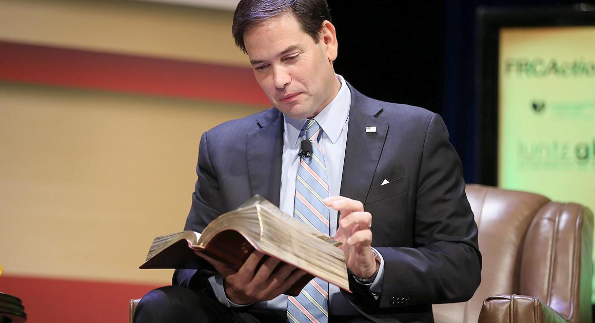 """Thượng nghị sĩ Marco Rubio: """"Tin Chúa, bất cứ điều gì bạn làm đều thành công"""""""