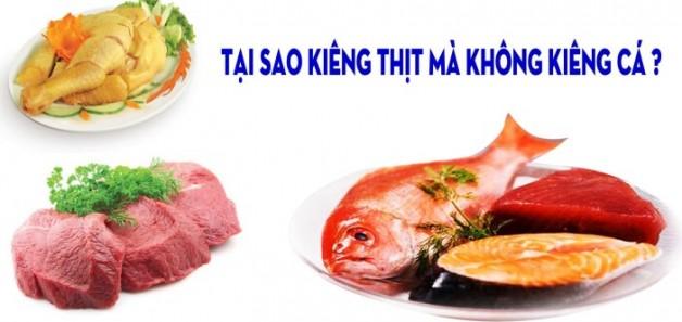 Tại Sao Kiêng Thịt Mà Không Kiêng Cá?