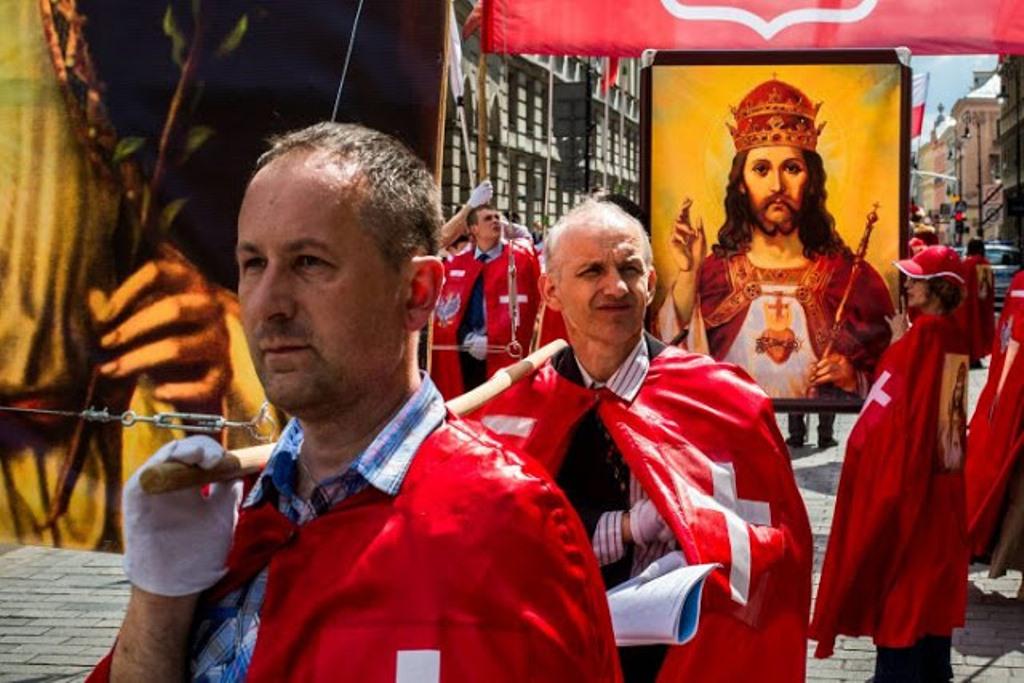 Ba Lan tôn vinh Chúa Giêsu Kitô là Vua trị vì đất nước