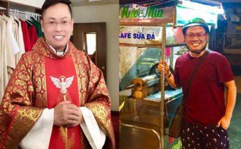 Cậu bé bán bánh trước cửa nhà thờ năm nào ở Việt Nam giờ trở thành linh mục cho giáo xứ ở Mỹ