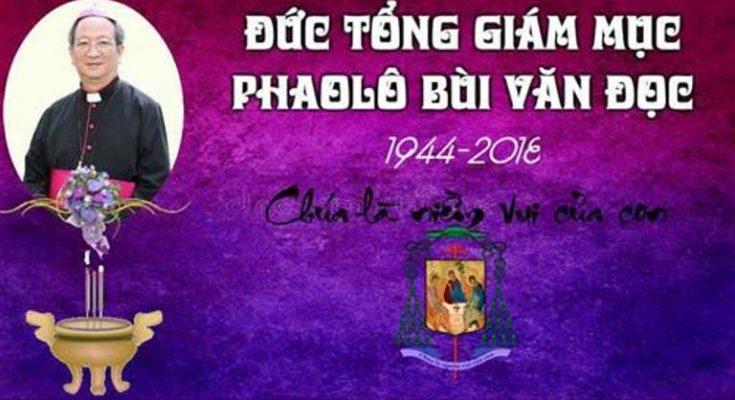 Chương trình tang lễ và kính viếng linh cửu của Gia đình Liên Tu Sĩ TGP Sài Gòn