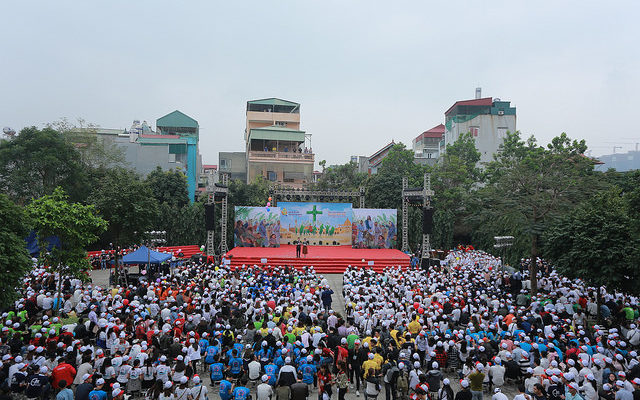 Đại Hội Giới trẻ Tổng Giáo phận Hà Nội Lễ Lá 2018