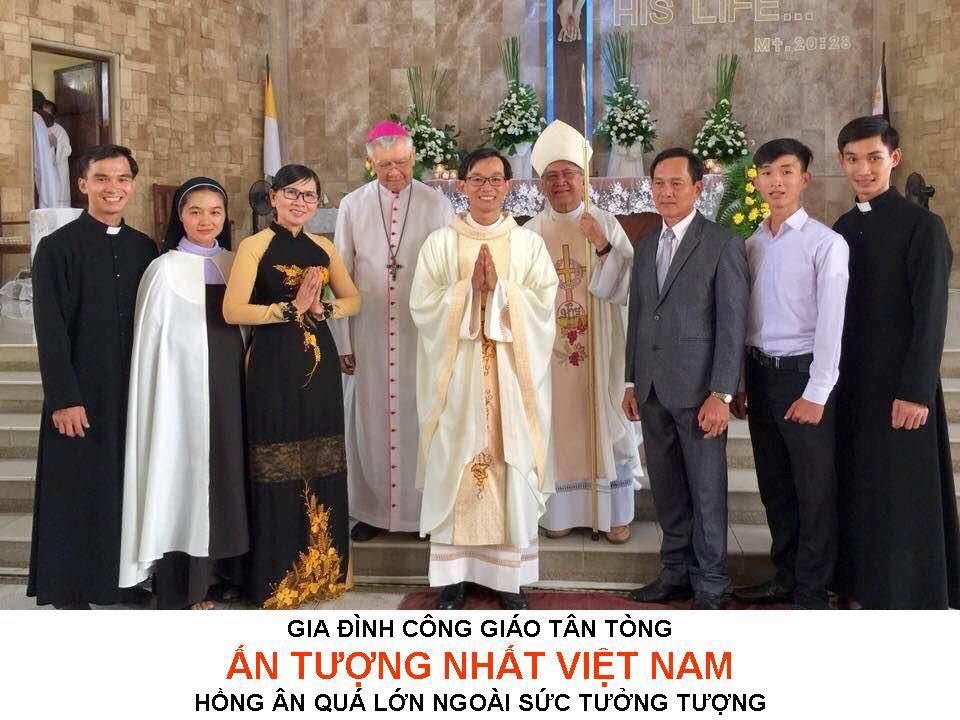 Gia Đình Công Giáo Có 5 Người Con Đi Tu Ấn Tượng Nhất Việt Nam