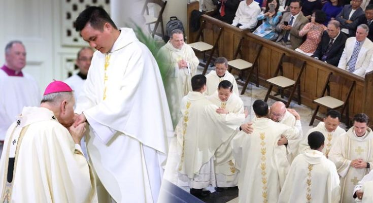 Hai du học sinh VN trở thành Linh Mục của giáo phận New Orleans, Hoa Kỳ