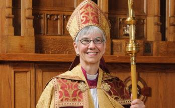 Nữ Giám mục Anh giáo đầu tiên ở Canada