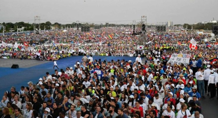 600 ngàn người canh thức với ĐTC Phanxicô tại Panama
