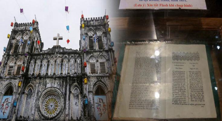 Nhà thờ Mằng Lăng nơi lưu giữ cuốn sách quốc ngữ đầu tiên