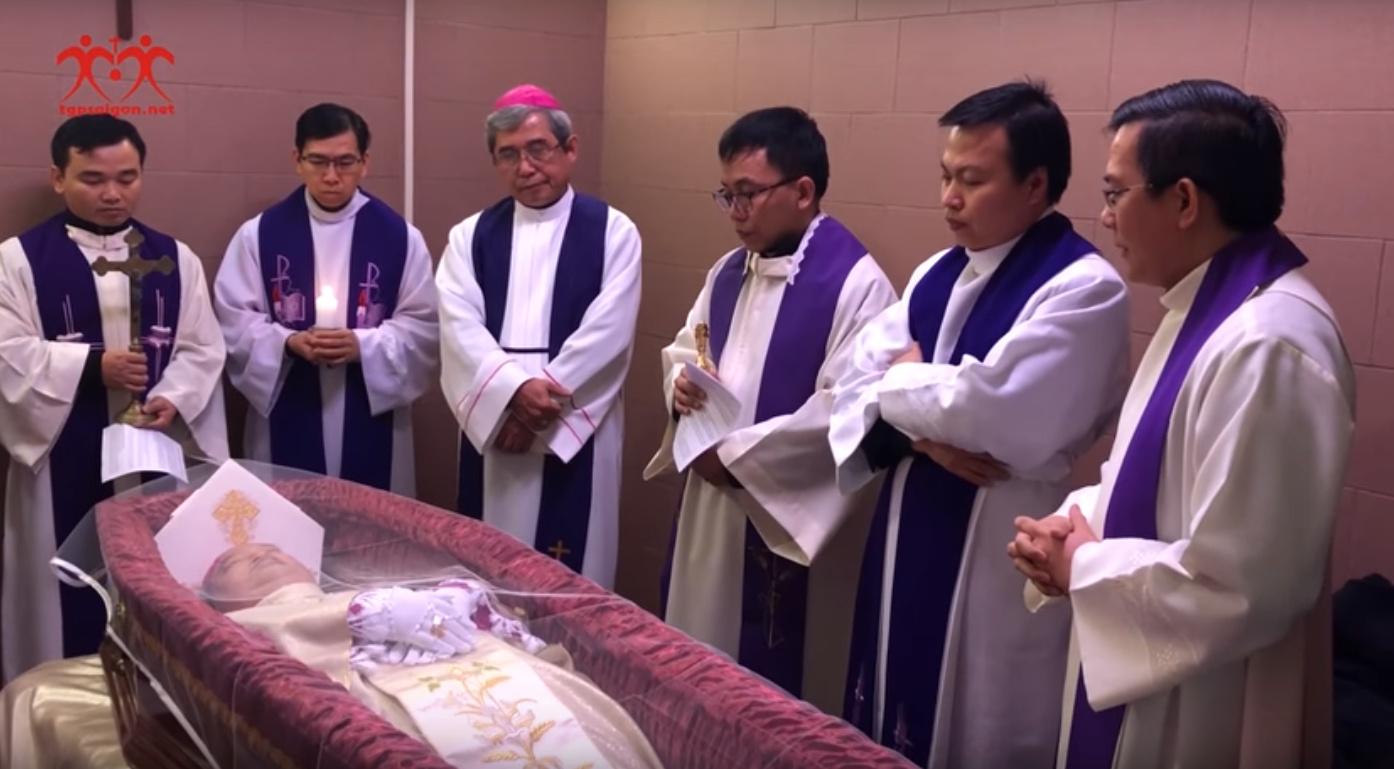 Chương trình lễ tang chính thức của Đức tổng Giám mục Phaolô Bùi Văn Đọc - Ảnh minh hoạ 4