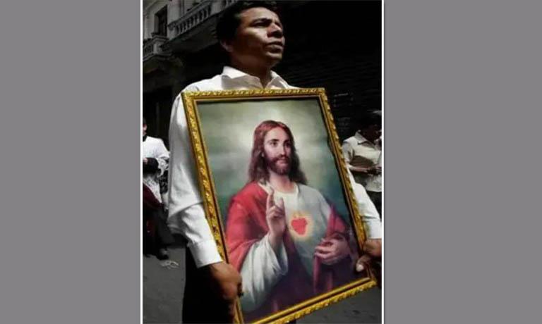 Bức ảnh Thánh Tâm của Chúa Giêsu Kitô