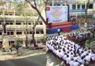 Tượng Thánh Vinh Sơn Liêm không thể phá hủy tại Trường THPT Nguyễn Trung Trực – HCM